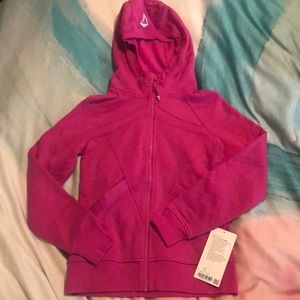 The Ivivva Hoodie Jacket size 12 Pink NWT